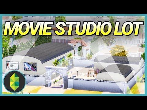Home Movie Studio Lot! (Sims 4 Build)