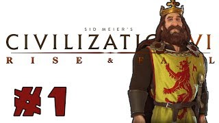 Civilization VI: Rise and Fall! -- SCOTLAND -- Part 1