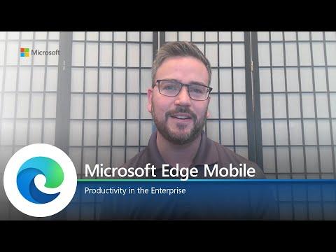 Microsoft Edge | Mobile Productivity in the Enterprise