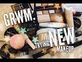 GRWM: Trying New Makeup
