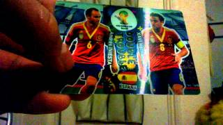 Opening: Adrenalyn XL 2014 FIFA World Cup Multipack + Double Trouble card!