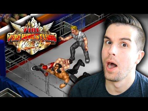 CHRIS DANGER ARRIVES!! SETTING UP ROSTERS!!   Fire Pro Wrestling World #1
