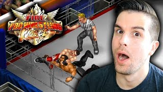 CHRIS DANGER ARRIVES!! SETTING UP ROSTERS!! | Fire Pro Wrestling World #1
