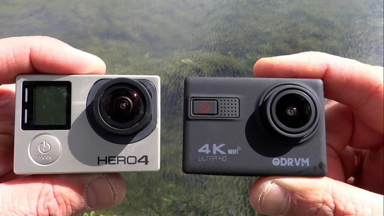 odrvm affordable 4k pov action camera vs gopro hero4 black. Black Bedroom Furniture Sets. Home Design Ideas