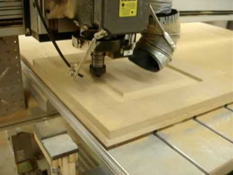 Single Raised Panel Door in Seconds - YouTube