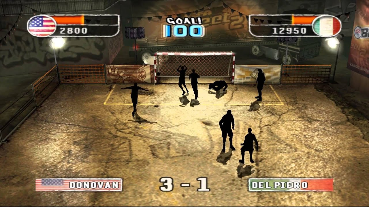 Psp free 2 download street fifa