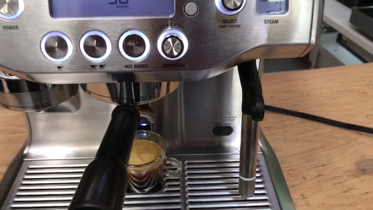 Breville Oracle Espresso Machine Repair - Test after solenoid valve replacement #1106 - YouTube