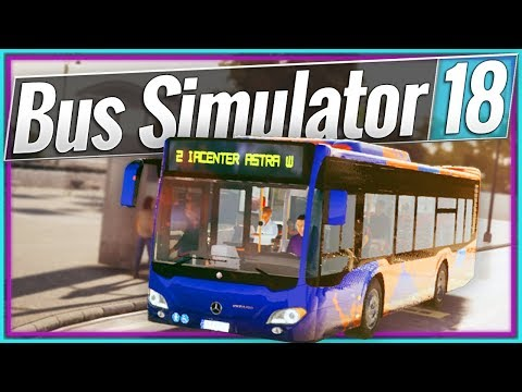Bus Simulator 18 | ROUND & AROUND (#2)