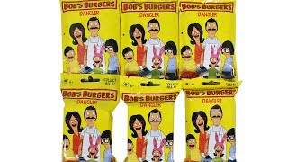 Bob's Burgers Dangler Keychain Blind Bag Unboxing Toy Review