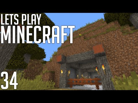Let's Play Minecraft: Tropical Entrance! (Episode 34)