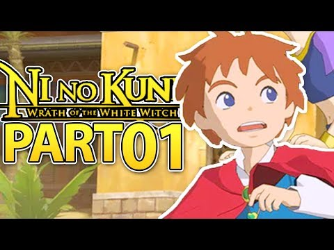 OLIVER, LET'S START OUR ADVENTURE! | Ni no Kuni Gameplay Walkthrough Part 1 (PS3 / PS Now)