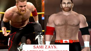 How to create Sami Zayn in SvR 2011 ps2 (2 attires + moveset)