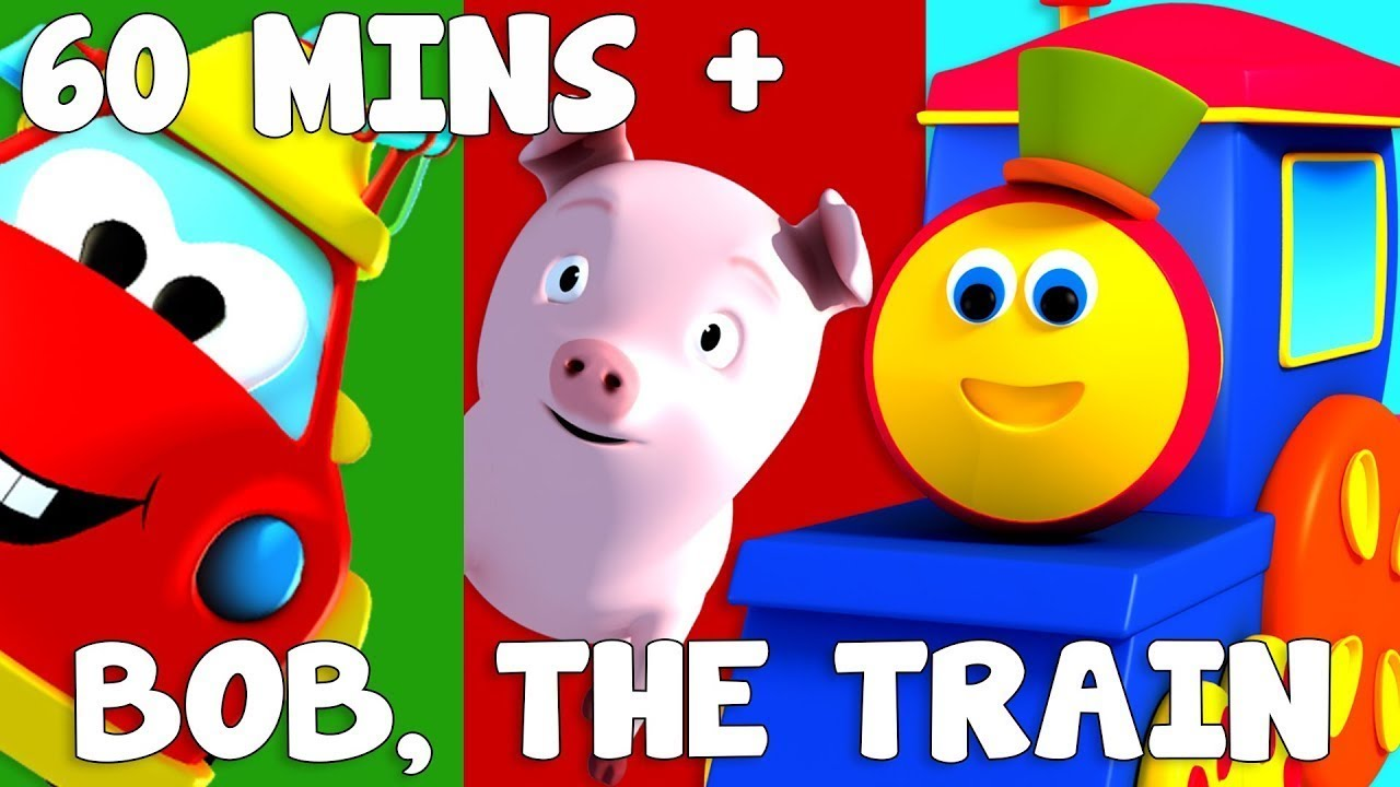 Bob The Train | Adventure Series | ABC Adventure | Shapes Song | Bob Cartoons
