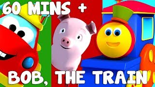 Gambar cover Adventure Series | ABC Adventure | Shapes Song | Bob the train | kids videos