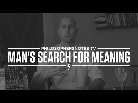 PNTV: Man's Search for Meaning by Viktor Frankl
