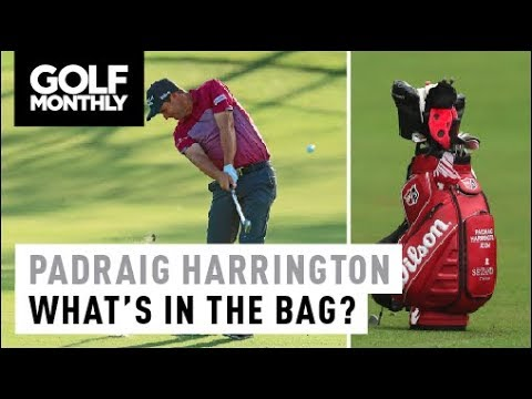 Padraig Harrington I What's in The Bag? I Golf Monthly