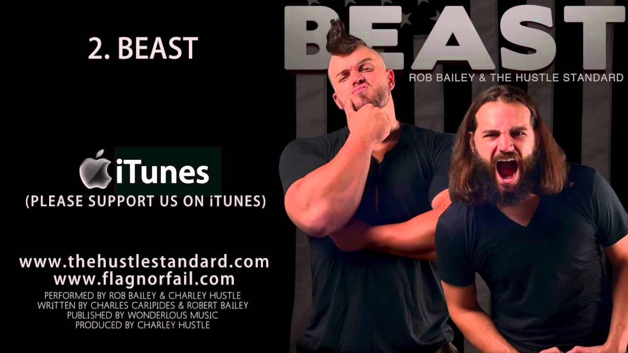 Download BEAST by Rob Bailey & The Hustle Standard