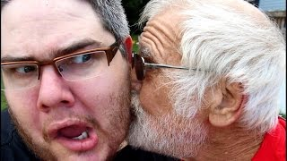 Grandpa Stabs Pickleboy Prank Vloggest