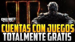 CUENTAS CON JUEGOS | JUEGOS TOTALMENTE GRATIS XBOX 360 Y ONE