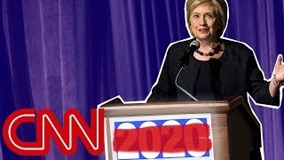 Hillary Clinton is joking about running again in 2020, right?