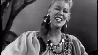 Evelyn Knight Dark Eyes (Ochi Chornye), 1952 TV Video