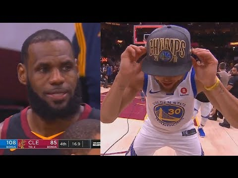 Last Minute Of The 2018 NBA Finals Game 4 | Warriors Vs Cavaliers