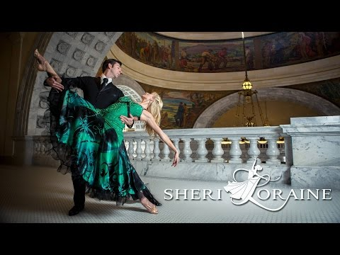 ConfiDance Couture Designer Sheri Loraine – Beautiful Ballroom Dance Dresses