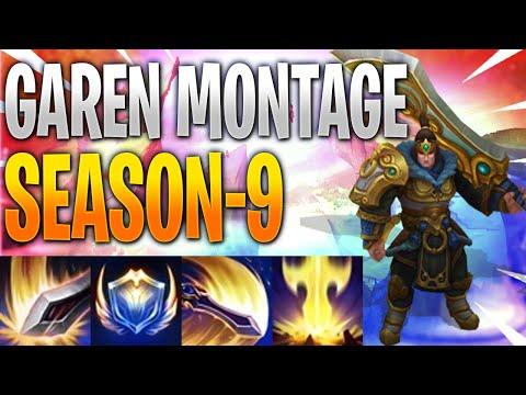Garen Montage Season 9 -League of Legends