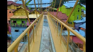 vuclip Jembatan Kaca Lengkapi Kampung Warna Warni Malang