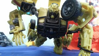 Lockdown Kills Ratchet Scene In Stop Motion | Transformers: Age Of Extinction  2014