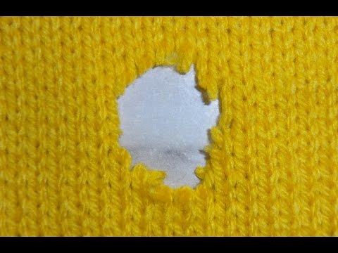 Ремонт трикотажа. ♥♥♥ Вязание на спицах.