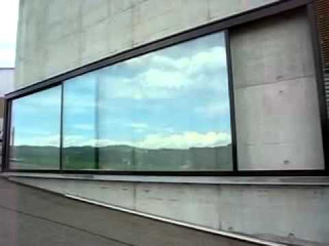 Beau Air Lux Motorized Sliding Door   YouTube