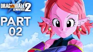 ELITE TRAINING W. SUPREME KAI OF TIME! | Dragon Ball Xenoverse 2 - Walkthrough Part 2, Gameplay PS4