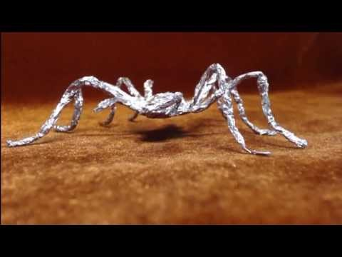 How to make spider from foil