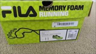 fila coolmax memory foam reviews