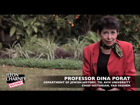 Dina Porat, Yossi Beilin, and Moshe Arens | Charney Report