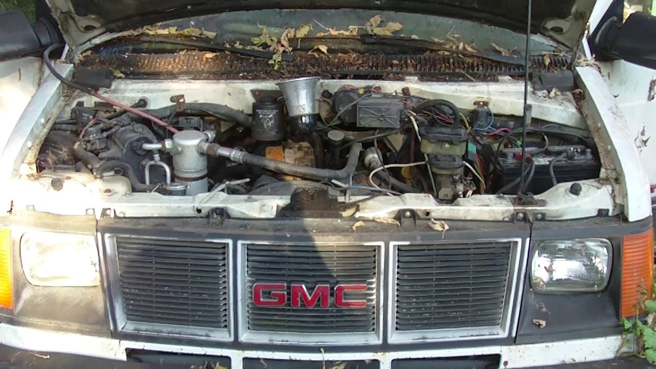 1991 gmc safari 4 3 v6 cold start  adapted to carburetor