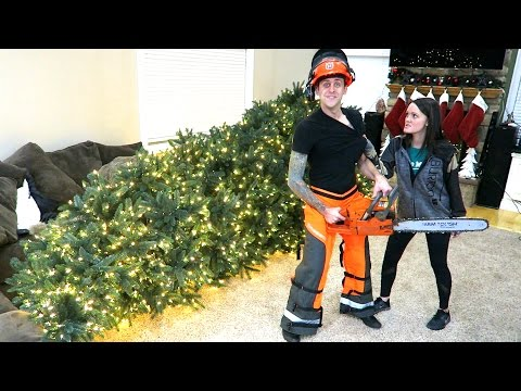 Thumbnail: TOOK THE TREE DOWN!!