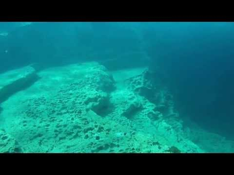 Scuba Diving in Cyprus, Marine Divers Amphitheatre Dive Site June 13