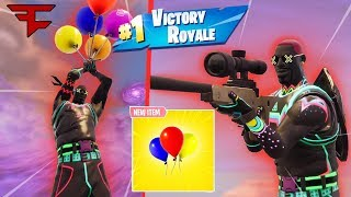 These Balloon Trickshots are INSANE (Fortnite Battle Royale)
