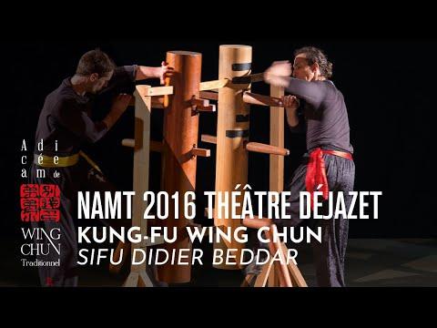Démonstration Wing Chun - Sifu Didier Beddar - Paris 2016