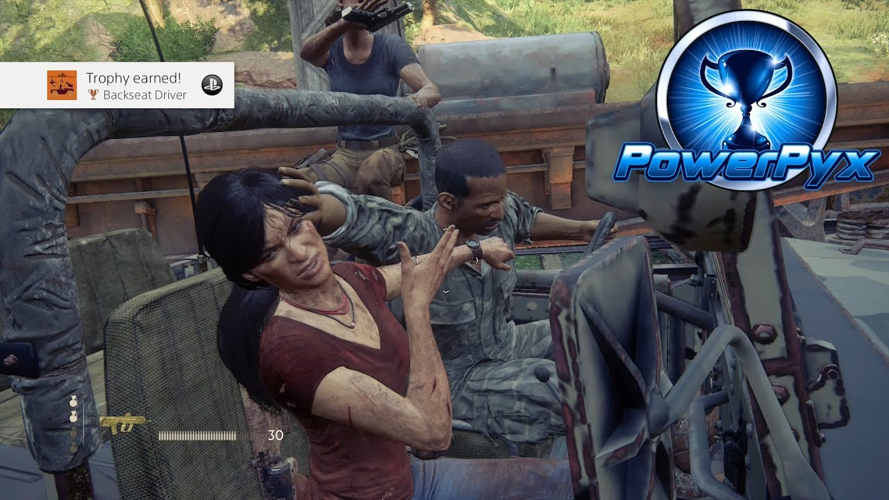 uncharted lost legacy trophy guide and roadmap