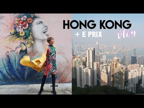 HONG KONG VLOG - OUTFITS, FORMULA E, HELLO KITTY, DISNEYLAND | Blaise Dyer