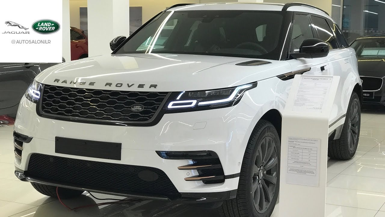 range rover velar 39 18 2 0 d240 4wd r dynamic se exterior interior youtube. Black Bedroom Furniture Sets. Home Design Ideas