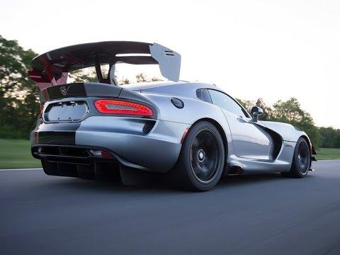 Dodge Viper ACR 2015 - YouTube