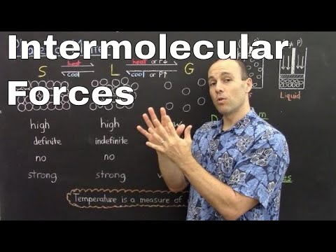 Gen Chem II - Lec 2 - Intermolecular Forces And Phases Of Matter
