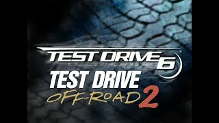 Test drive 6 and Test drive off road 2