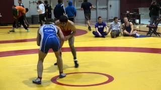2014 McMaster Invit FS57kg Oren Furmanov (Guelph) vs Sam Jagas (Brock) R2 FINAL