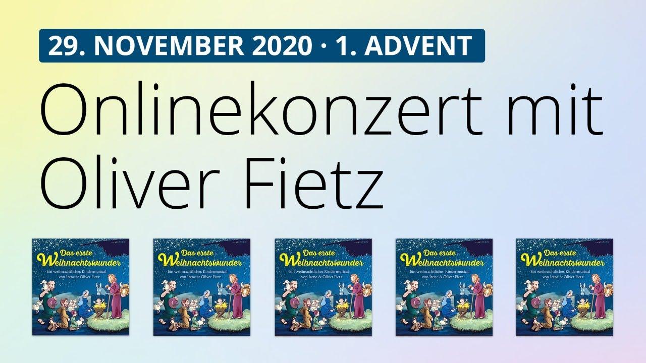 Online-Konzert am 29.11.2020