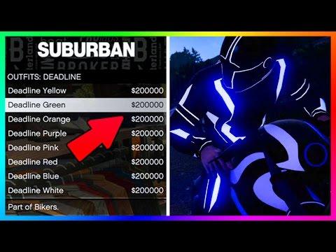 "GTA 5 DLC - HOW MUCH MONEY YOU'LL NEED FOR NEW SHOTARO ""TRON"" BIKE & RARE LIGHT OUTFITS (GTA ONLINE)"